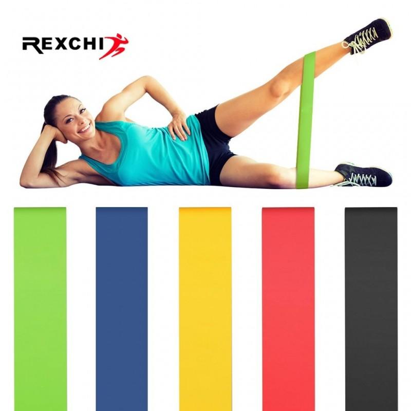 Bandas de resistencia REXCHI para gimnasio, Fitness, para Yoga, estiramiento, bandas de asistencia, goma para Crossfit, ejerc...