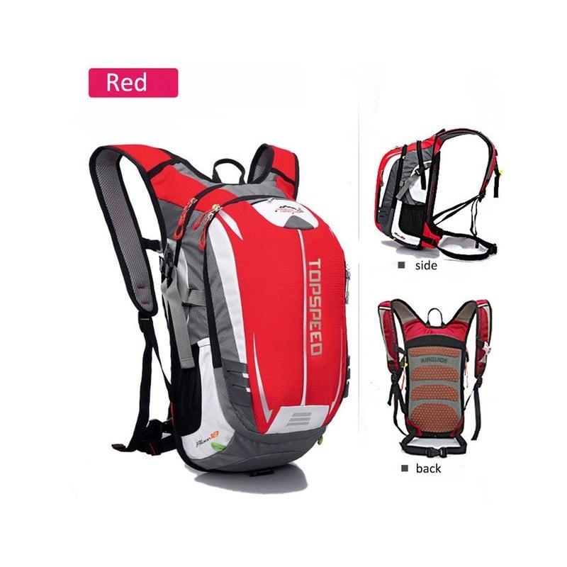 Mochila para bicicleta de 18 l, mochila para ciclismo, mochila para deportes al aire libre, mochila para hombre, senderismo, ...