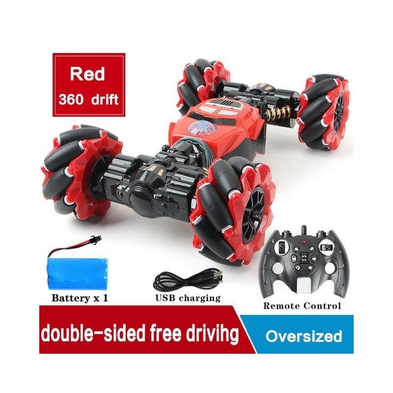 RC coche 4WD Radio Control coche gesto de torsión vehículo Off-Road de luz música deriva juguete de alta velocidad escalada R...