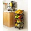 Rack organizador de cocina 4 niveles Cocina