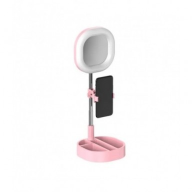 Anillo de luz LED cámara de estudio fotográfico Luz de fotografía luz de vídeo regulable para Youtube maquillaje Selfie con sopo