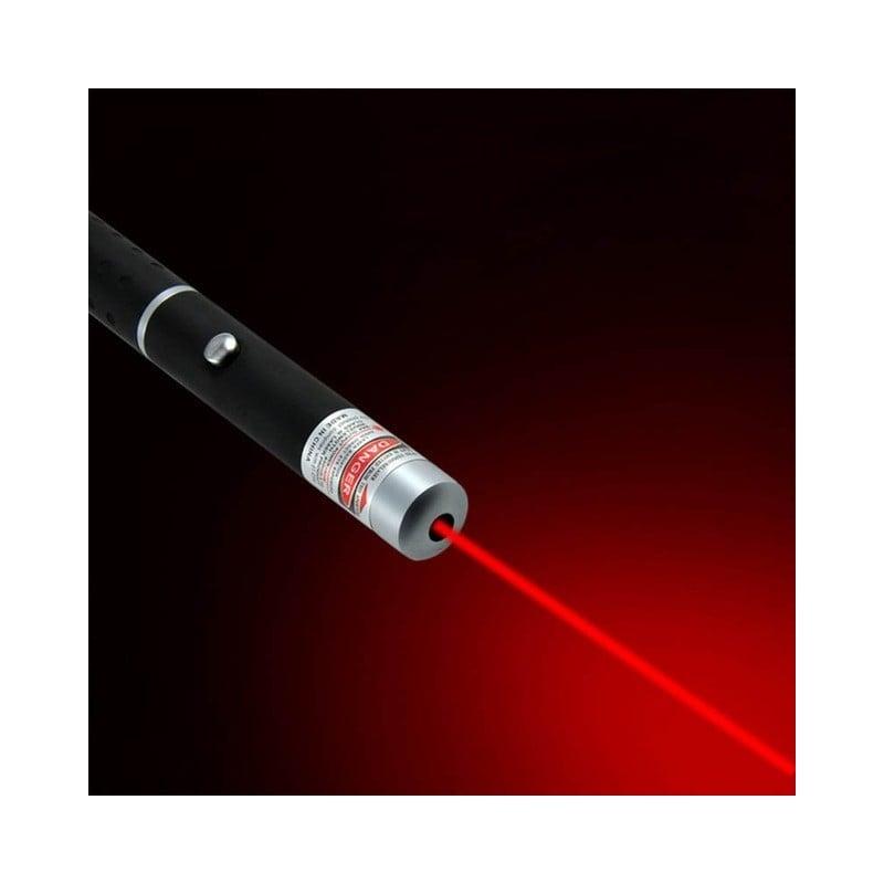 Puntero láser de 5MW, potente dispositivo láser verde, azul y rojo para caza, herramienta de supervivencia, haz de luz de pri...