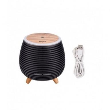 Difusor aromático con USB, Humidificador de aire, aceite esencial de aromaterapia, minihumidificador con luces de 7 colores para