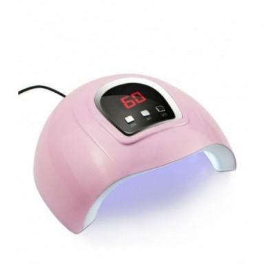 Secador de esmalte de Gel para uñas, lámpara UV LED de alta potencia 120/72W, autodetección luz solar, herramientas de manicura