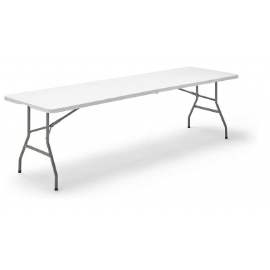 Mesa Plegable 240 cm Blanco