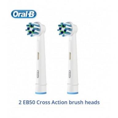 Oral B cepillo de dientes eléctrico 2D cepillo de dientes giratorio limpio recargable cepillo de dientes dos cabezas de cepillo