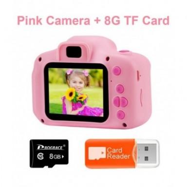 Cámara de juguete para niños, Mini cámara Digital, cámara de vídeo, cámara de dibujos animados para niños, videocámara de juguet