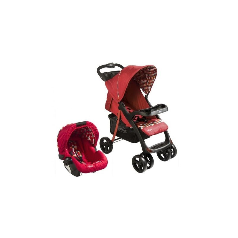 Coche Travel Rojo H005GR Bebesit Coches y sillas