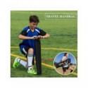 Portería de fútbol grande y plegable WISHOME para patio trasero, cuadrado, portería de fútbol, Red de fútbol para niños, familia