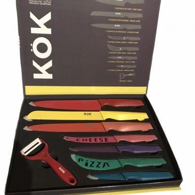 Set 8 cuchillos marca KÖK