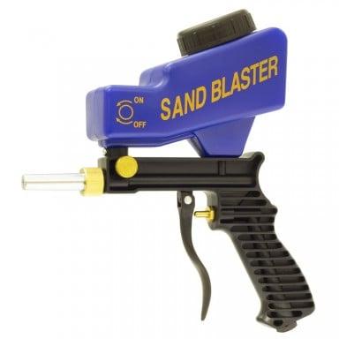 Pistola arenadora por aire profesional