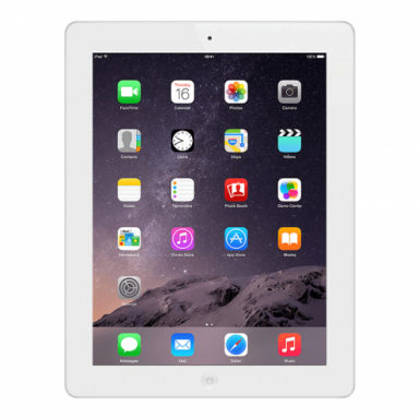 Apple iPad 4 Tablet 16GB Storage 1.40GHz 9.7 WiFi MD510LL A White reacondicionado