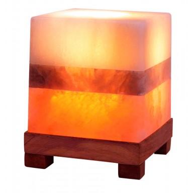 Lámpara de sal ambiental dual