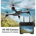 Drone Quadcoptero Sg160 Dual Camera720P Black Drones