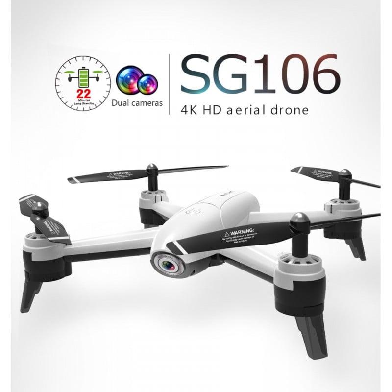 Drone Quadcoptero Sg160 Dual Camera720P White Drones