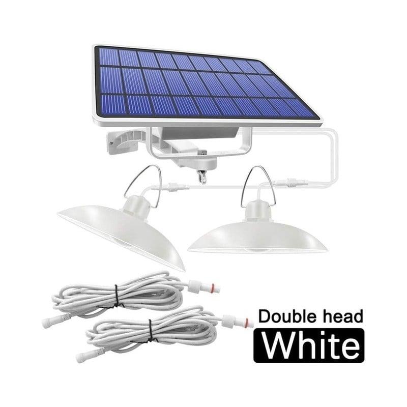 Lámpara colgante Solar para interiores y exteriores, luz con línea de iluminación blanca/blanca cálida para acampar, jardín, Pat