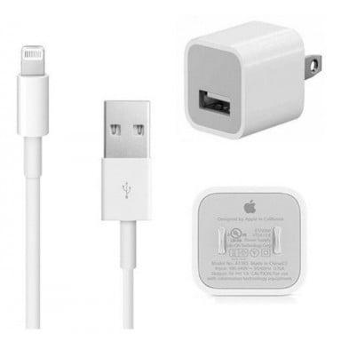 Apple USB Lighting Cable + Cargador
