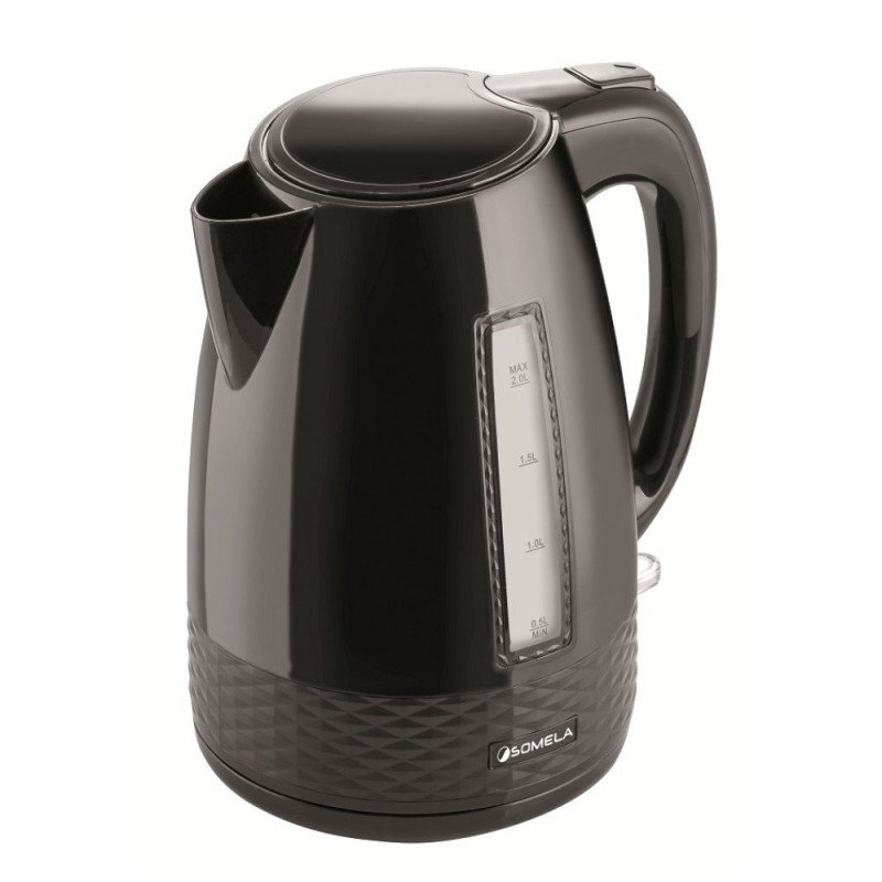 Hervidor 2 litros Somela 360 Black Cocina