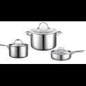 Juego de Casserola + Olla + Sarten + Accesorios Cocina