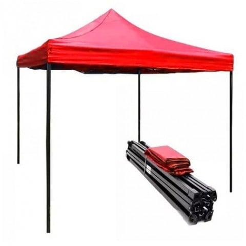 Toldo plegable 2x3 metros. Color Rojo Carpas
