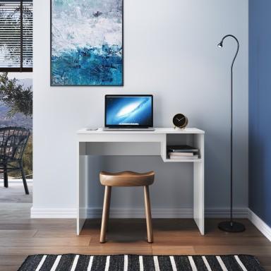 Escritorio computador blanco 90cm