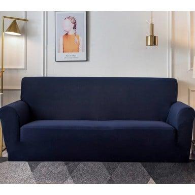 Funda Sofa 4 Cuerpos 235x300 Azul