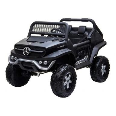 Auto a bateria buggy Mercedes Unimog Negro