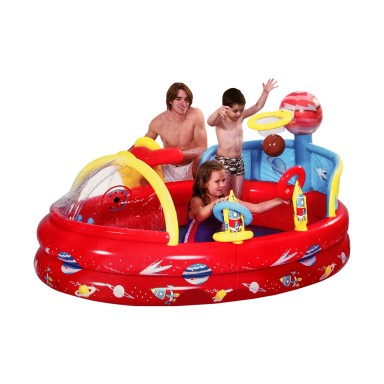 Juego inflable acuatico Spaceship Play Pool 097015