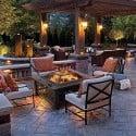 Fogon Brasero metalico 3 en 1 Terraza y Jardin
