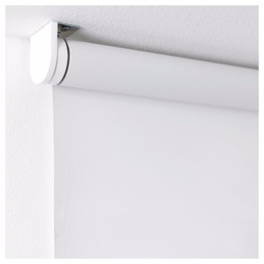 Cortina Roller Blackout Blanca Cortinas