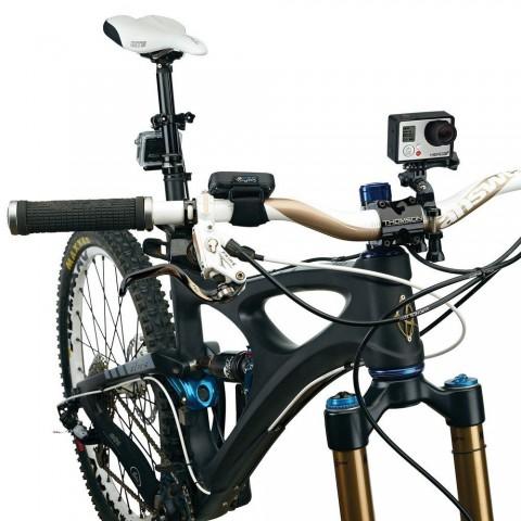 Soporte de bicicleta o moto para Gopro Deporte