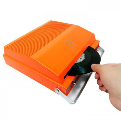 Reproductor MPK giratorio portátil 2 velocidades Bluetooth Tocadiscos y Tornamesas
