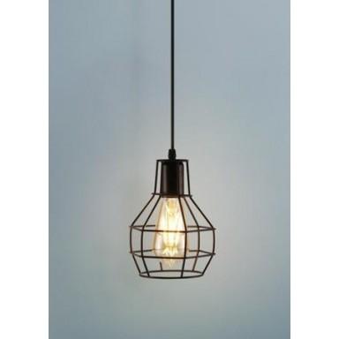 Lámpara Ovalada Metálica