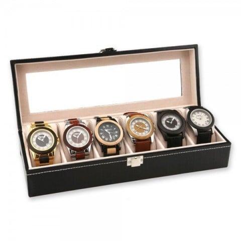 Organizador para 6 relojes Hogar