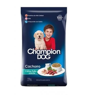 Alimento Perros. Champion Dog Cachorro 15 Kgrs C&P