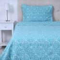 Quilt Stonewashed Esmeralda Cubrecamas y Quilts