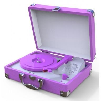 Tocadiscos Mini Purpura
