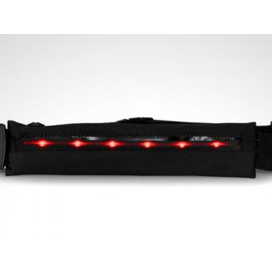 Cinturón expandible para running con luces led