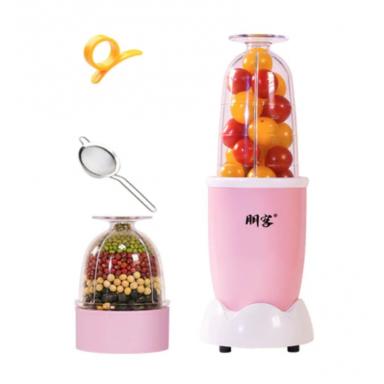 Mini exprimidor eléctrico multifuncional de 220V, licuadora automática doméstica, máquina exprimidora, Mini exprimidor de alt...