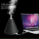 TINTONLIFE creativo volcán estilo Humidificador Ultrasónico Usb con colorido Led de luz difusor de aroma de aceite esencial A...