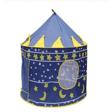 Tienda de juegos Castillo portátil plegable Tipi Prince tienda plegable niños Castillo Cubby casa de juegos regalos para niños a