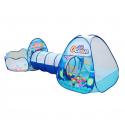 Tienda de campaña portátil 3 en 1 para niños, piscina, Océano, niños, tiendas tipi, túnel para gatear, piscina, piscina, carp...