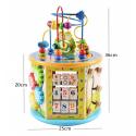 Juguetes Educativos Montessori para aprendizaje de la primera infancia, regalo de madera, rompecabezas de cognición de Color ...