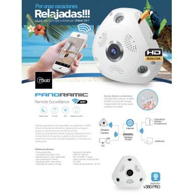 Camara de Seguridad Panoramica Microlab®