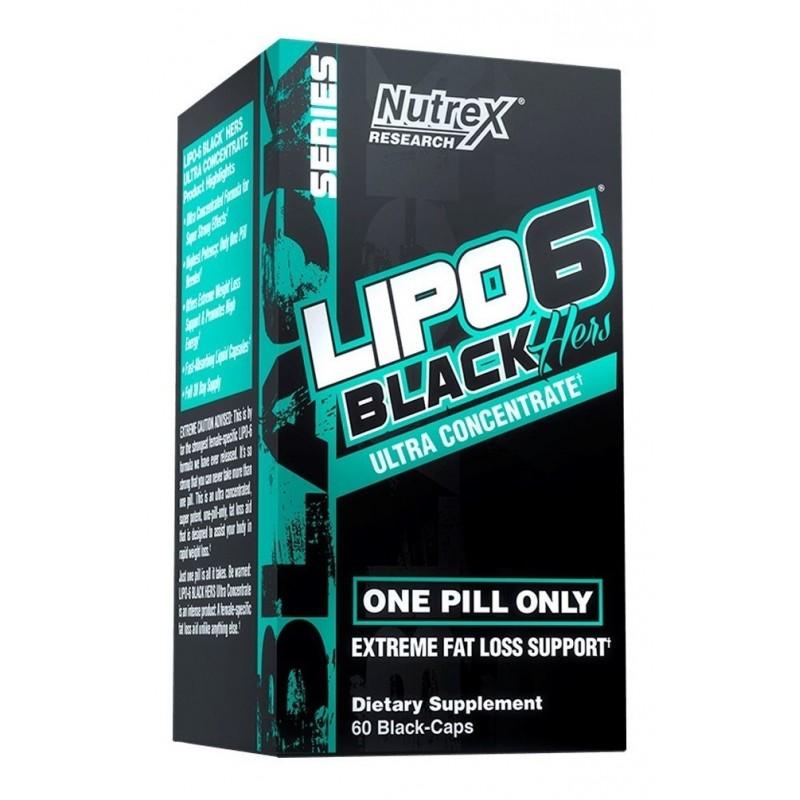 Lipo 6 Black Ultra concentrado Hers Suplementos Alimenticios
