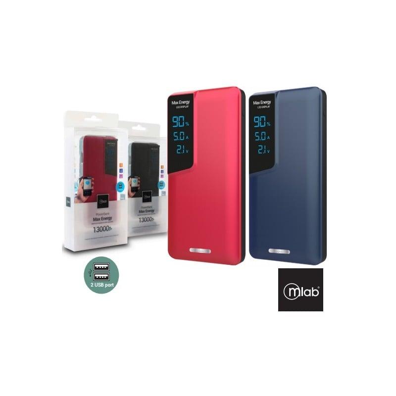 Powerbank AudioLab 10.000 mAh Rojo Tecnología