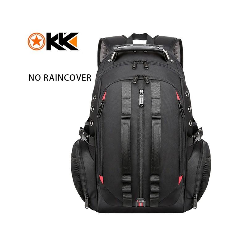 Mochila de viaje para hombre de 45 l, mochila para ordenador portátil 15,6, mochilas antirrobo USB para hombres, mochila esco...