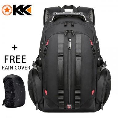 Mochila de viaje para hombre de 45 l, mochila para ordenador portátil 15,6, mochilas antirrobo USB para hombres, mochila escolar