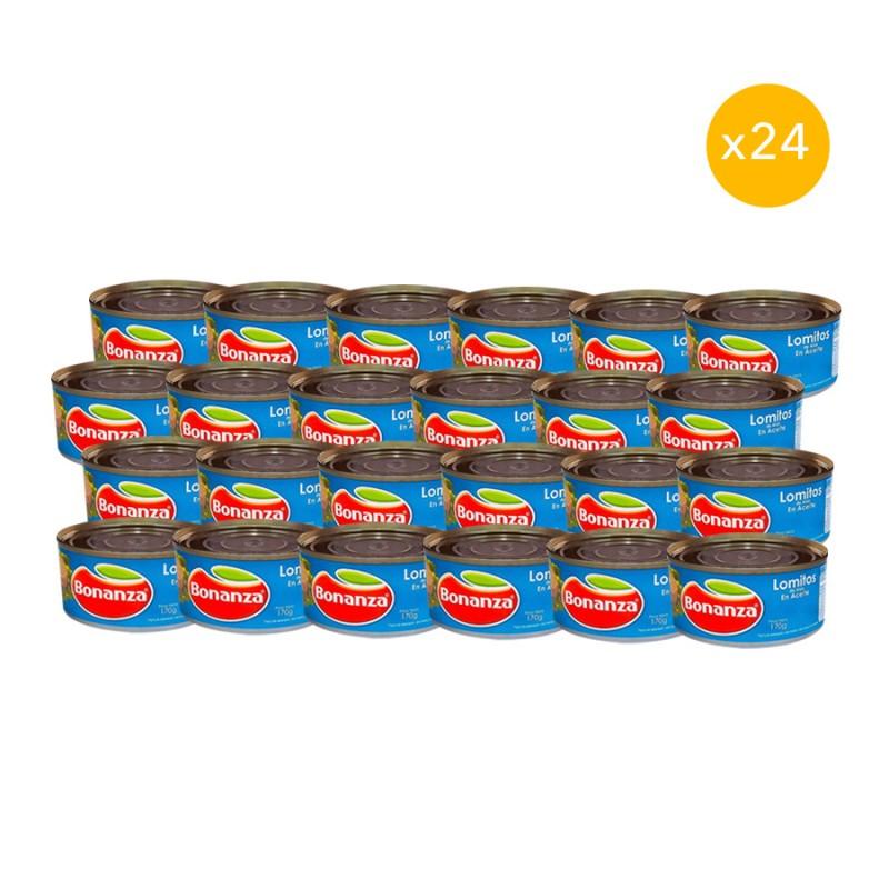 Pack 24 o 48 latas atún Bonanza Inicio
