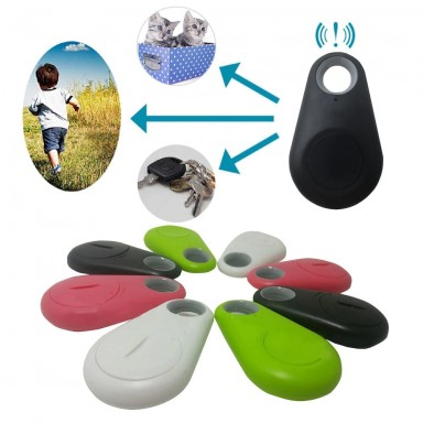 Rastreador Mini GPS inteligente antipérdida con Bluetooth para mascotas, para mascotas, perros, gatos, llaves, cartera, bolsa, r